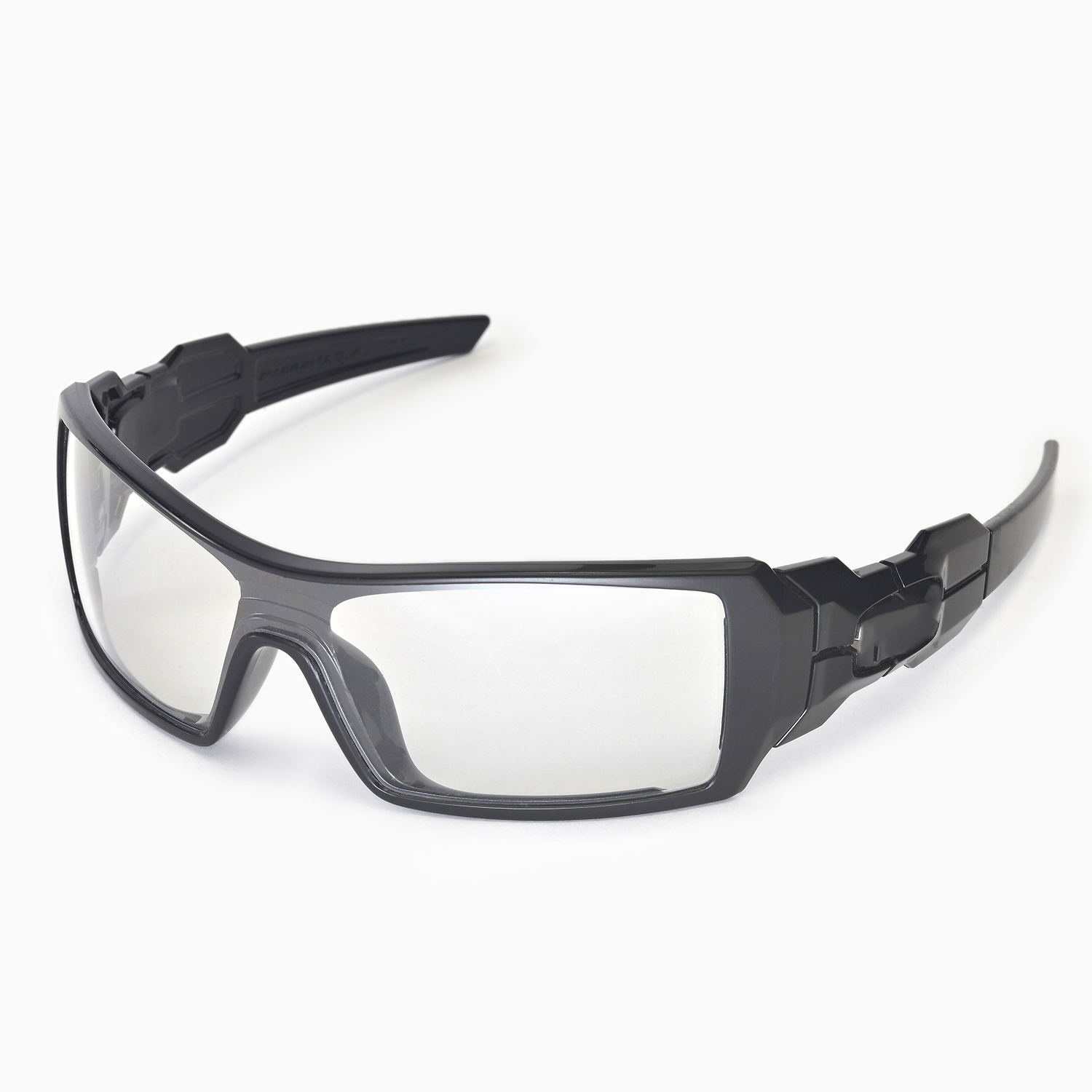 Clear Oakley Oil Rig Sunglasses