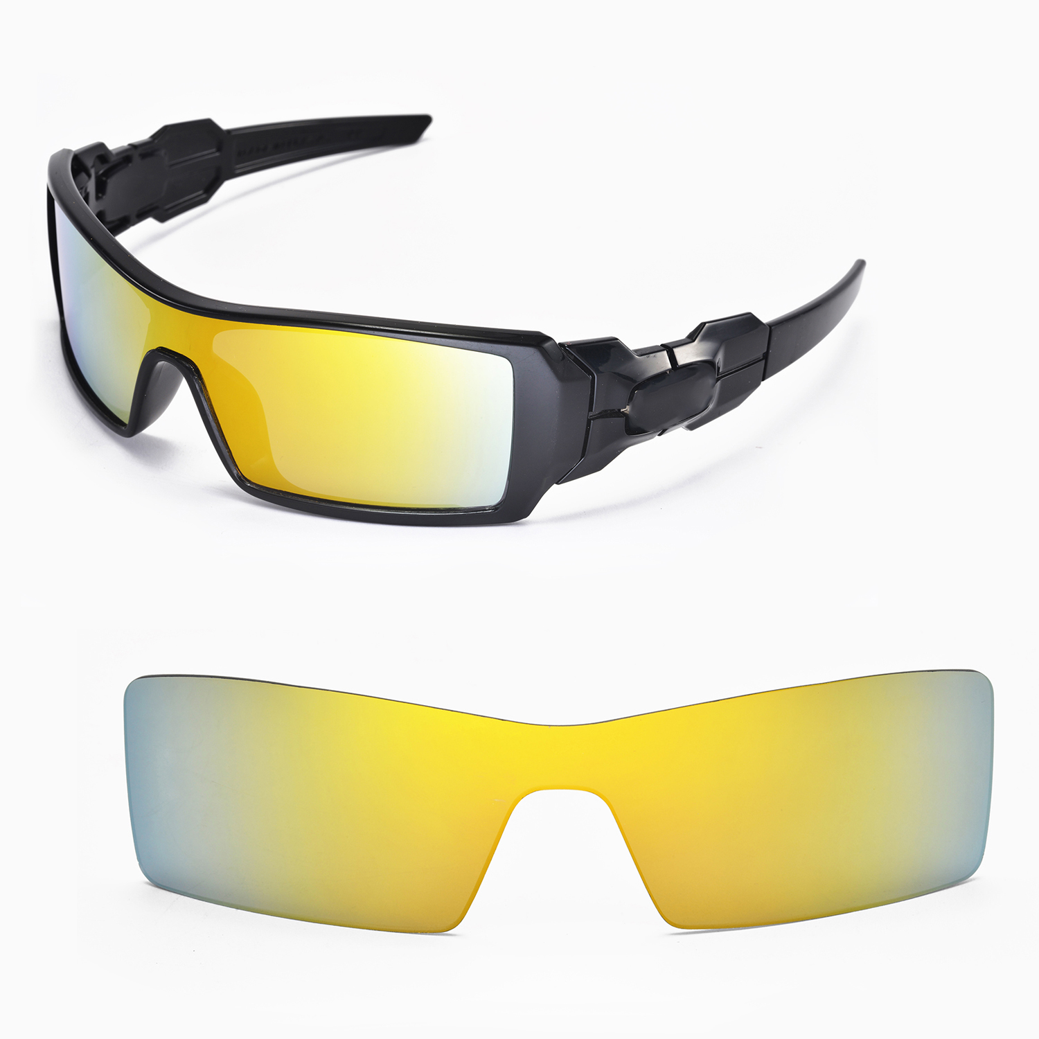 05dab44a2e Walleva Replacement Lenses for Oakley Oil Rig Sunglasses - Multiple Options