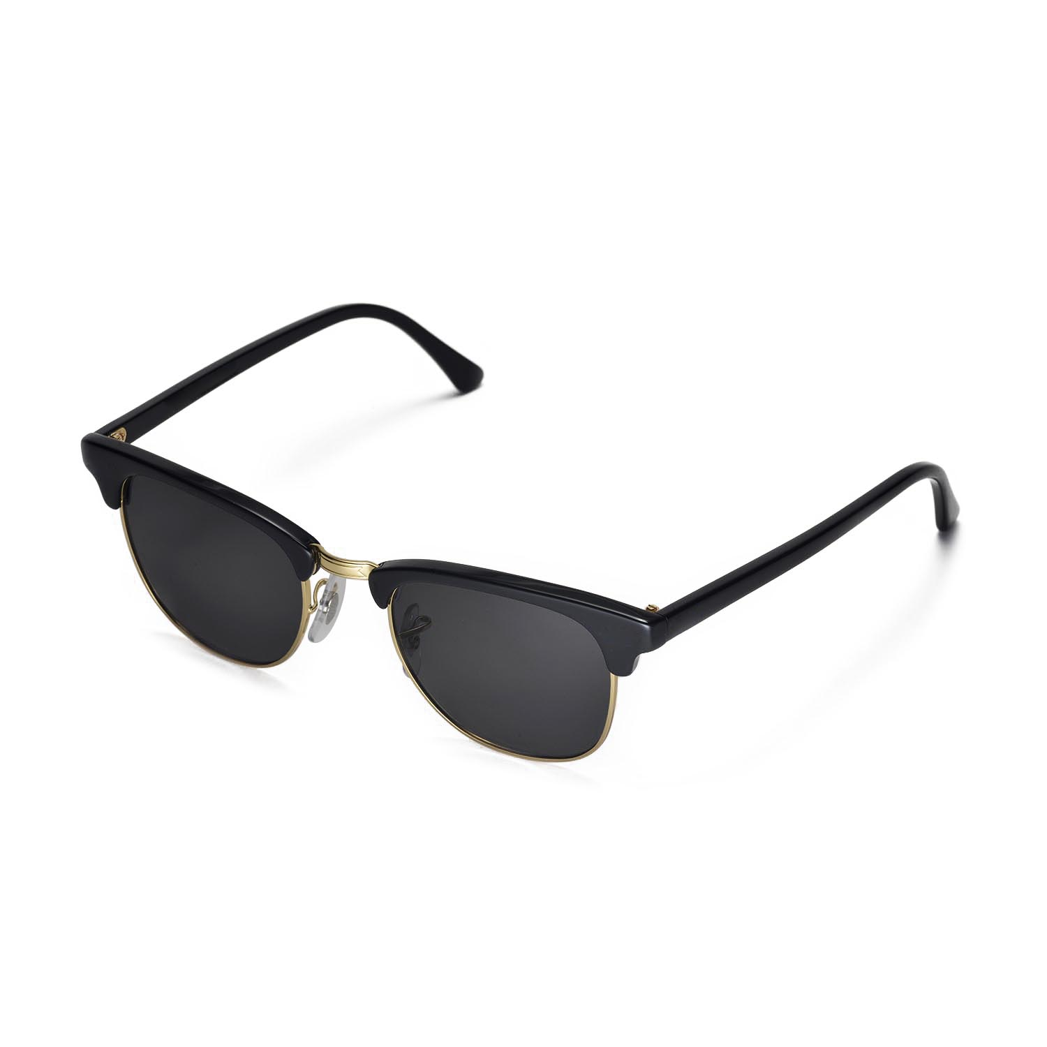 ray ban clubmaster rb3016 sunglasses  New Walleva Polarized Black Lenses For Ray-Ban Clubmaster RB3016 ...