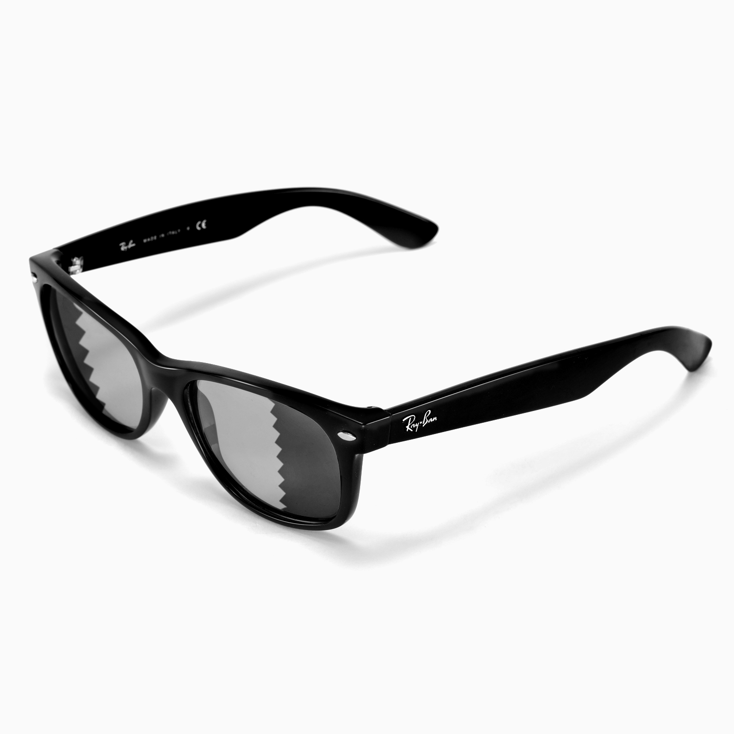 wayfarer blue  Walleva Polarized Transition /Photochro mic Lens 4 Ray-Ban ...