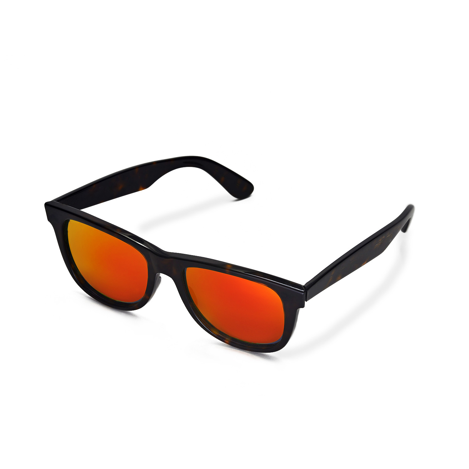 new ray ban wayfarer polarized  New Walleva Polarized Fire Red Lenses For Ray-Ban Wayfarer RB2140 ...
