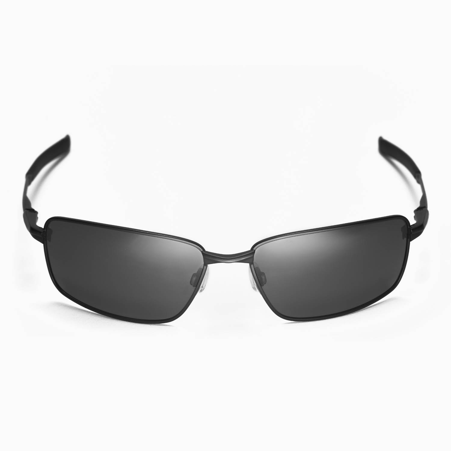 oakley splinter  New Walleva Polarized Black Lenses For Oakley Splinter
