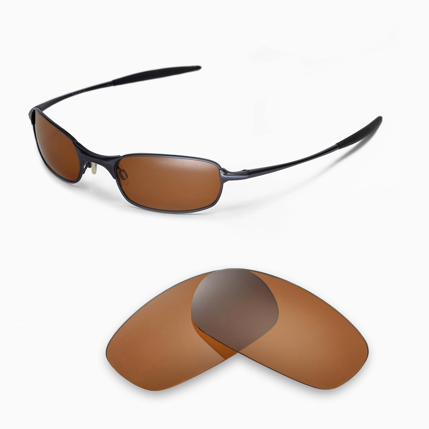 af7f24606d8 WL Replacement Lenses for Oakley Square Wire 2.0 Sunglasses - Multiple  Options