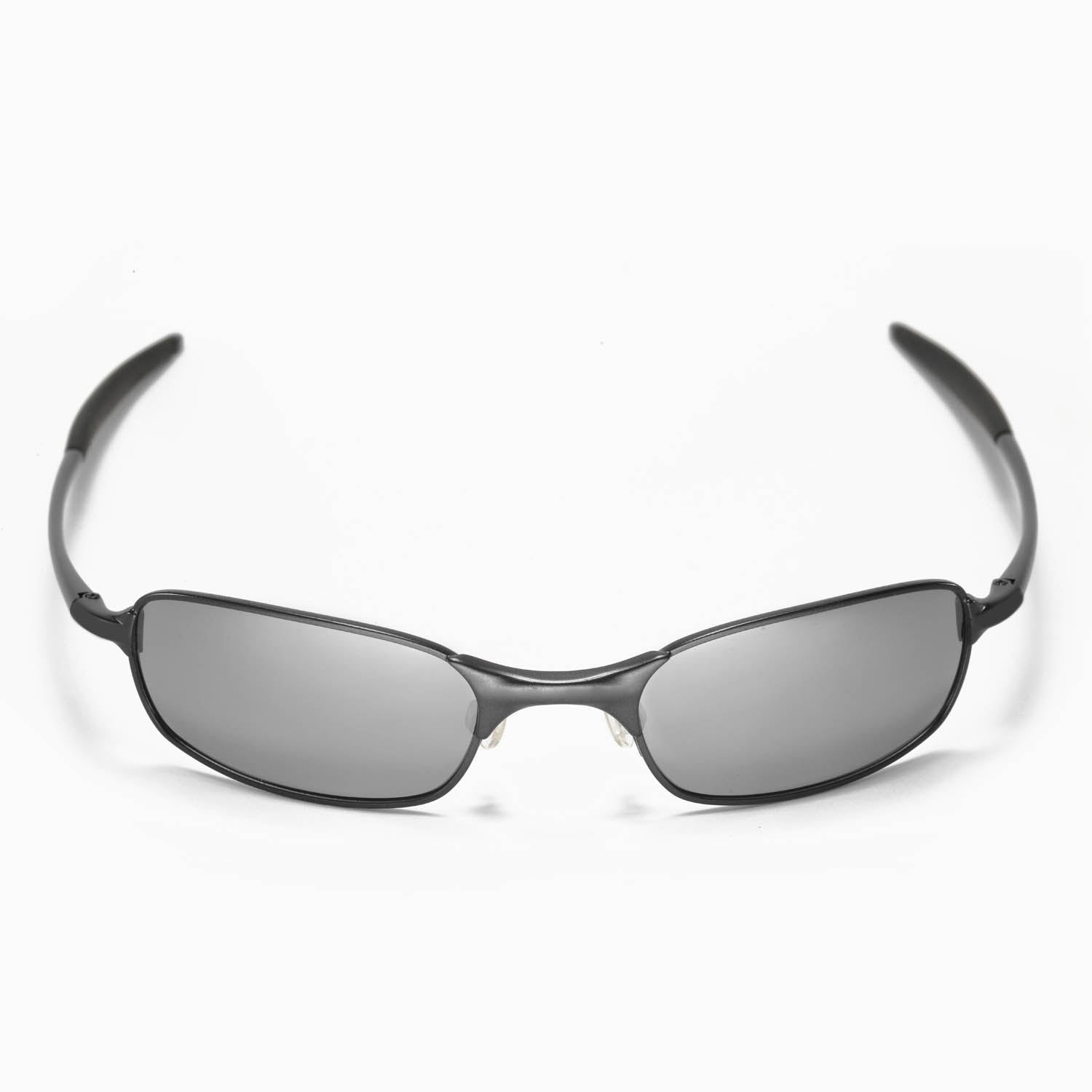 Oakley A Wire 2 0 Sunglasses  new walleva polarized black anium lenses for oakley square
