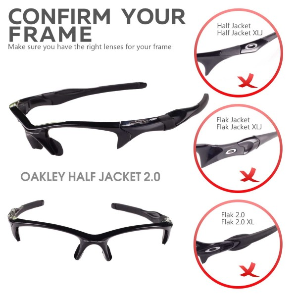 27a17a58b6 ... Oakley Half Jacket 2.0 Sunglasses. Color   Polarized Lenses   Transition