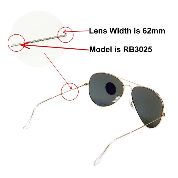 7779d5a8634 New Walleva Polarized Transition Photochromic Lenses For Ray-Ban Aviator  Large Metal RB3025 62mm. Color   Polarized Lenses   Transition