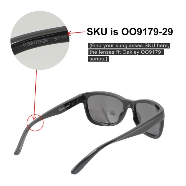 5fb9fd54ec ... Replacement Lenses For Oakley Forehand Sunglasses. Color   Polarized  Lenses   Black