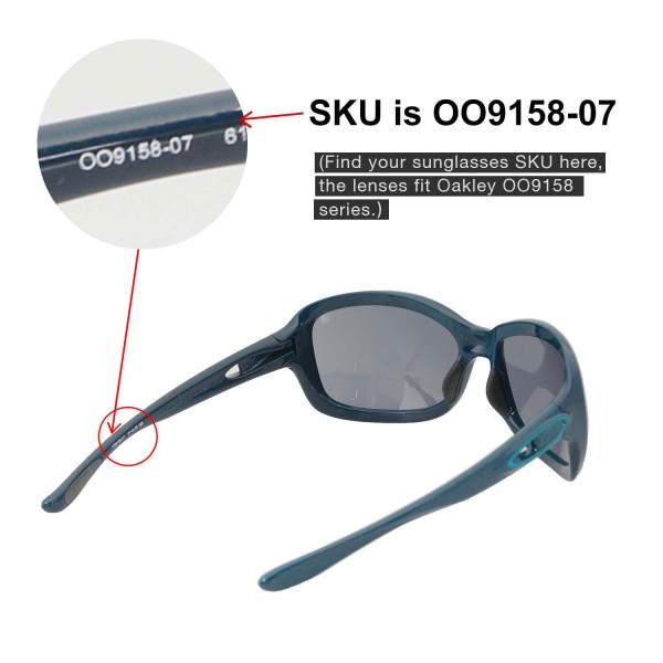 aaefcce4e3 ... reduced oakley urgency sunglasses. color polarized lenses black 49640  a2f69