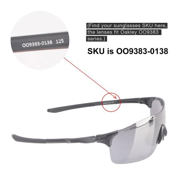 18ef67c609 New Walleva Black Polarized Replacement Lenses For Oakley EVZero ...