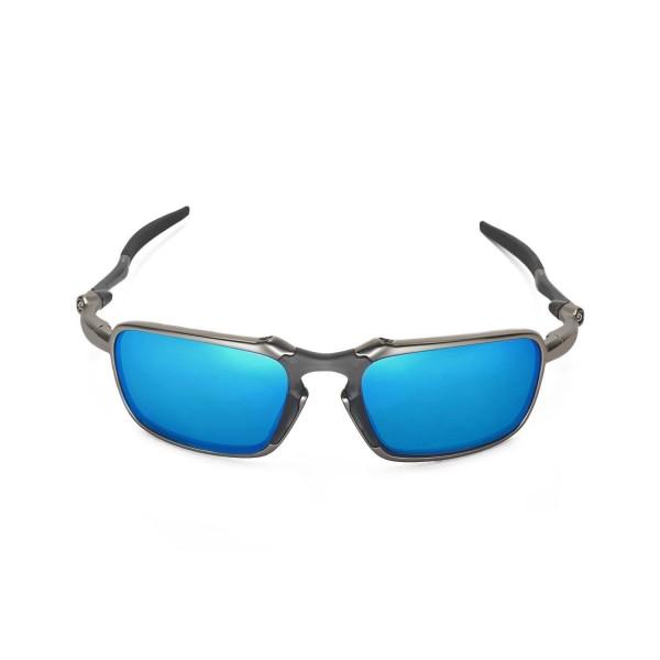 oakley badman blue lens