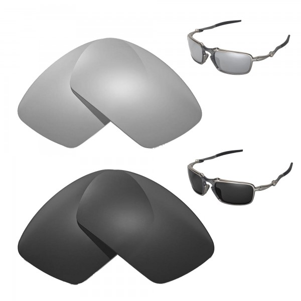 4f81a4cd0e New Walleva Titanium + Black Polarized Replacement Lenses For ...