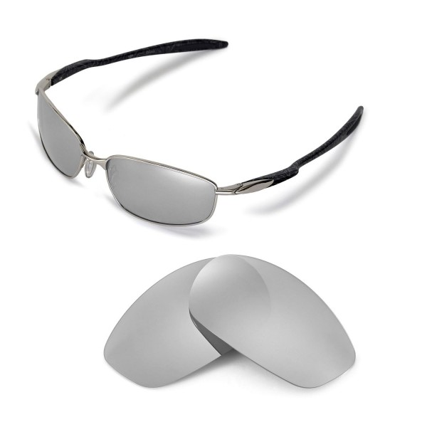 4d4bbba7c8a Walleva Polarized Titanium Replacement Lenses for Oakley Blender ...
