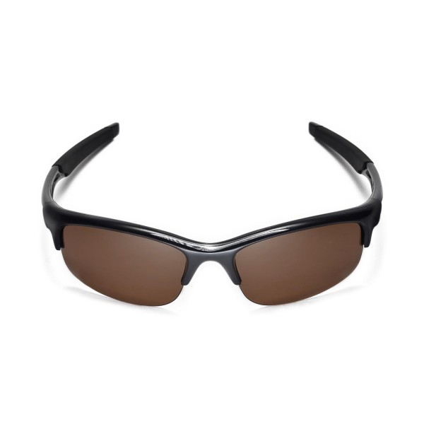 6fbca33773 Walleva Polarized Brown Replacement Lenses for Oakley Bottle Rocket  Sunglasses
