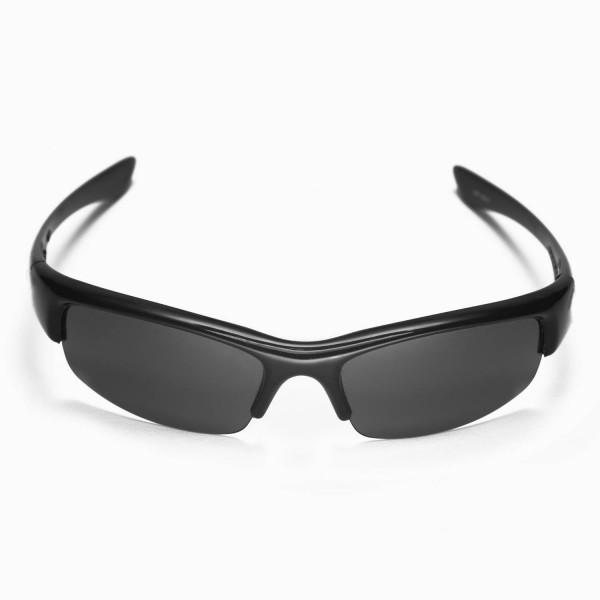 5abb2a0015 Walleva Replacement Lenses for Oakley Bottlecap Sunglasses - Multiple  Options Available (Black - Polarized). Color   Polarized Lenses   Black