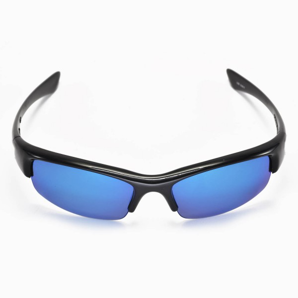 3b32920327 Walleva Replacement Lenses for Oakley Bottlecap Sunglasses - Multiple  Options Available (Ice Blue Coated - Polarized)