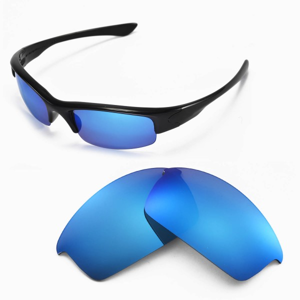 f93430f06a Walleva Replacement Lenses for Oakley Bottlecap Sunglasses - Multiple  Options Available (Ice Blue Coated - Polarized). Color   Polarized Lenses   Ice  Blue