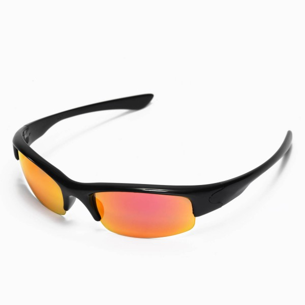 cc5ed1b0da Walleva Replacement Lenses for Oakley Bottlecap Sunglasses - Multiple  Options Available (Fire Red Mirror Coated - Polarized). Color   Polarized  Lenses ...