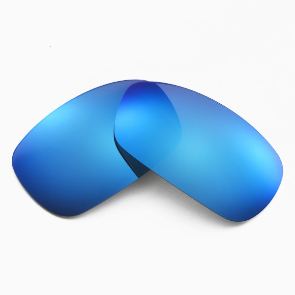 0418a30f896 Walleva Replacement Lenses for Oakley Crosshair 2.0 Sunglasses - Multiple  Options Available (Ice Blue Coated - Polarized)