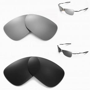 e3db69a6dda 1 Options. Crosshair 1.0. New Walleva Titanium+Black Polarized Replacement  Lenses For Oakley Crosshair 1.0 (2005-2006 version) Sunglasses