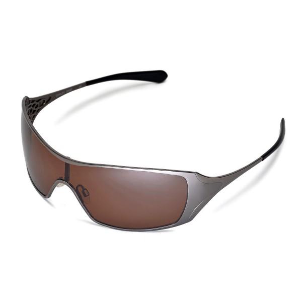 fbcda19da84 New Walleva Polarized Brown Replacement Lenses for Oakley Dart Sunglasses