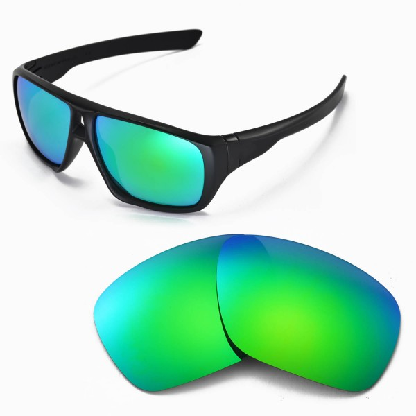 9d6a41a9c2 ... Replacement Lenses for Oakley Dispatch Sunglasses - Multiple Options  Available (Emerald Mirror Coated - Polarized). Color   Polarized Lenses    Emerald
