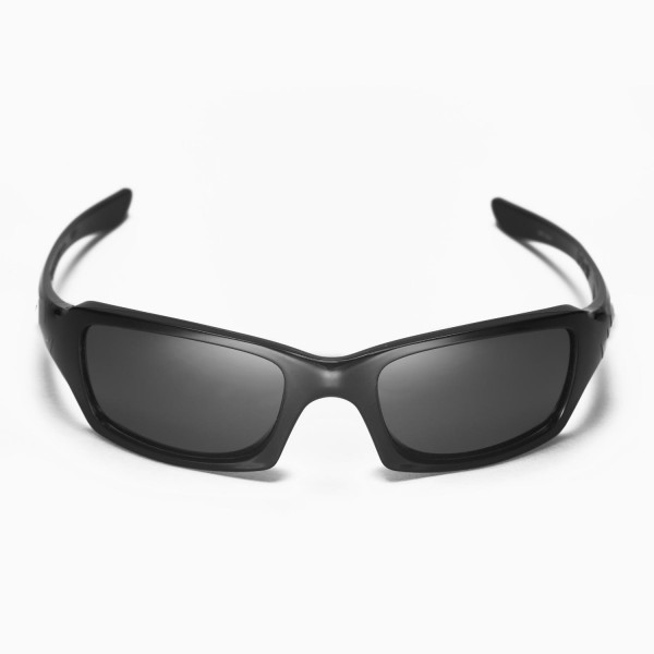 c4c1dd2742 Walleva Replacement Lenses for Oakley Fives Squared Sunglasses - Multiple  Options Available (Black - Polarized)