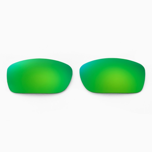 d135789e78 Walleva Replacement Lenses for Oakley Fives Squared Sunglasses - Multiple  Options Available (Emerald Mirror Coated - Polarized). Color   Polarized  Lenses   ...