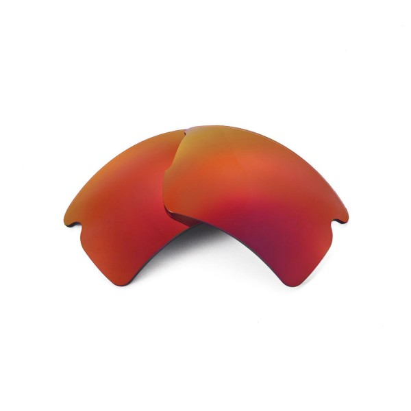 ab794359892bd New Walleva Fire Red ISARC Polarized Replacement Lenses For Oakley Flak 2.0  XL Sunglasses