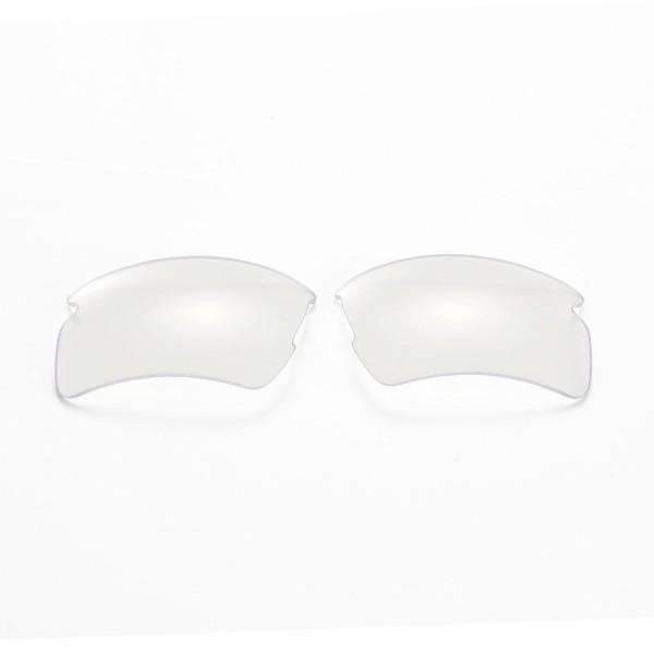 fec52c80fd New Walleva Clear Replacement Lenses For Oakley Flak 2.0 XL Sunglasses