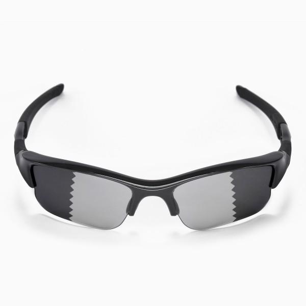 79250b7ce94 Walleva Transition Photochromic Polarized Replacement Lenses for Oakley  Flak Jacket XLJ Sunglasses. Color   Polarized Lenses   Transition