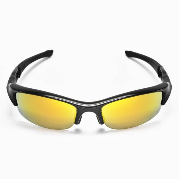 c0b9f9ec45 Walleva Replacement Lenses for Oakley Flak Jacket Sunglasses ...