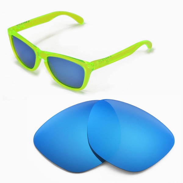 8530ac47ae Walleva Replacement Lenses for Oakley Frogskins Sunglasses ...