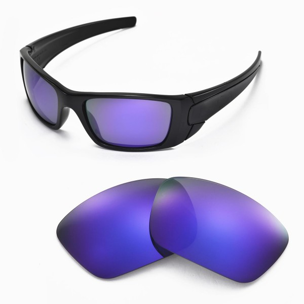 6192db3431f Walleva Replacement Lenses for Oakley Fuel Cell Sunglasses ...