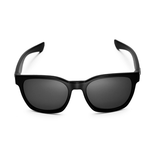 db8f9157b00 New Walleva Black + Titanium Polarized Replacement Lenses for Oakley Garage  Rock Sunglasses. Color