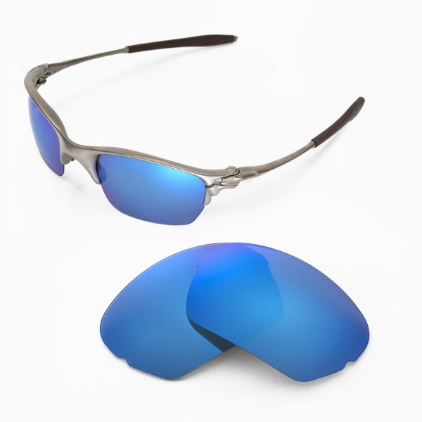 86522837157 Walleva Replacement Lenses for Oakley Half X Sunglasses - Multiple ...