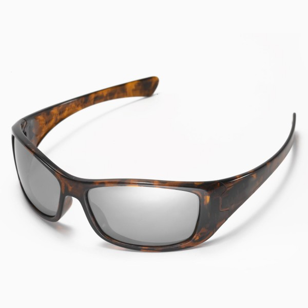 2c2b0db16e Walleva Replacement Lenses for Oakley Hijinx Sunglasses - Multiple Options  Available (Titanium Mirror Coated - Polarized)