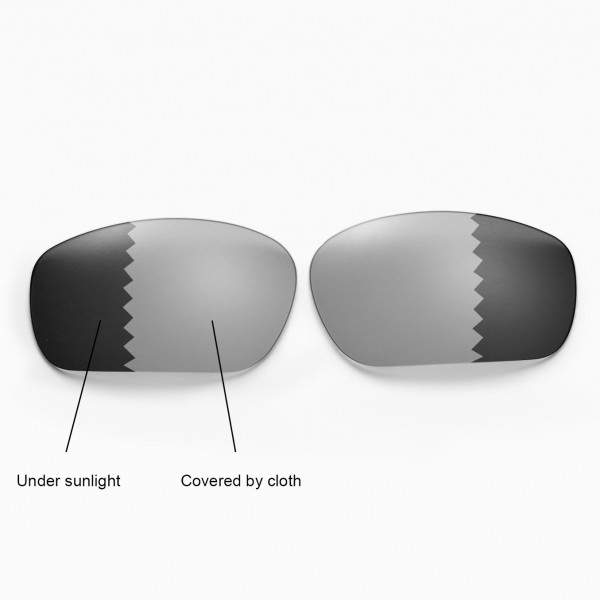 ce79f44381c Walleva Polarized Transition Photochromic Replacement Lenses for Oakley  Jawbone Sunglasses