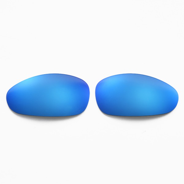 7c99346945 Walleva Replacement Lenses for Oakley Juliet Sunglasses - Multiple Options  Available (Ice Blue Coated - Polarized)