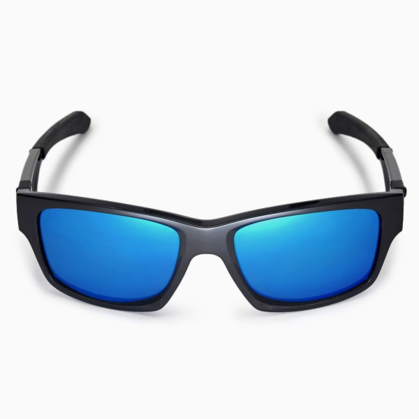 8659181fa6 Walleva Polarized Fire Red+Ice Blue Replacement Lenses for Oakley Jupiter  Squared Glasses