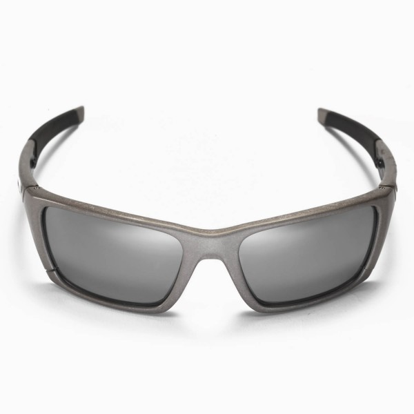 3bd01e5c1 Walleva Replacement Lenses for Oakley Jury Sunglasses - Multiple Options  Available (Titanium Mirror Coated - Polarized)
