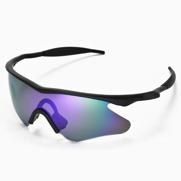 Walleva Replacement Lenses for Oakley M Frame Heater Sunglasses ...
