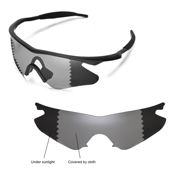 Walleva Polarized Transition/Photochromic Replacement Lenses With ...