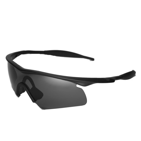 Walleva Replacement Lenses With Black Nosepad for Oakley M Frame ...
