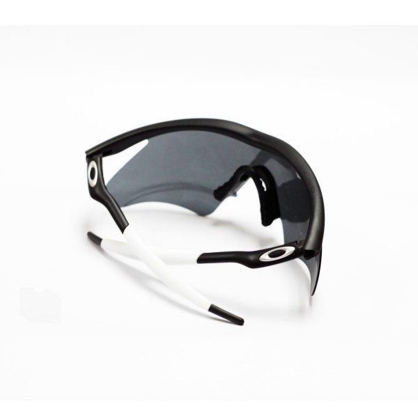 Walleva White Earsocks And Black Nose Pads For Oakley M Frame Sunglasses
