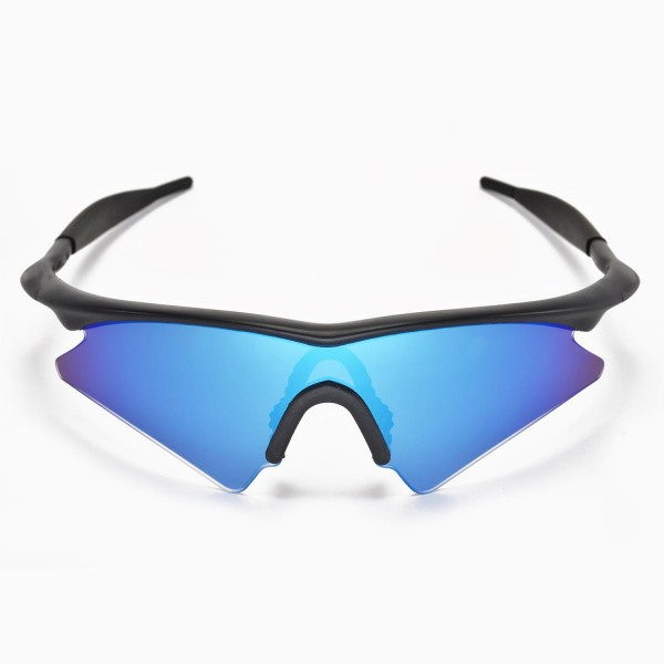 Walleva Ice Blue Replacement Lenses for Oakley M Frame Sweep Sunglasses
