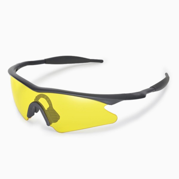 Walleva Yellow Replacement Lenses for Oakley M Frame Sweep Sunglasses