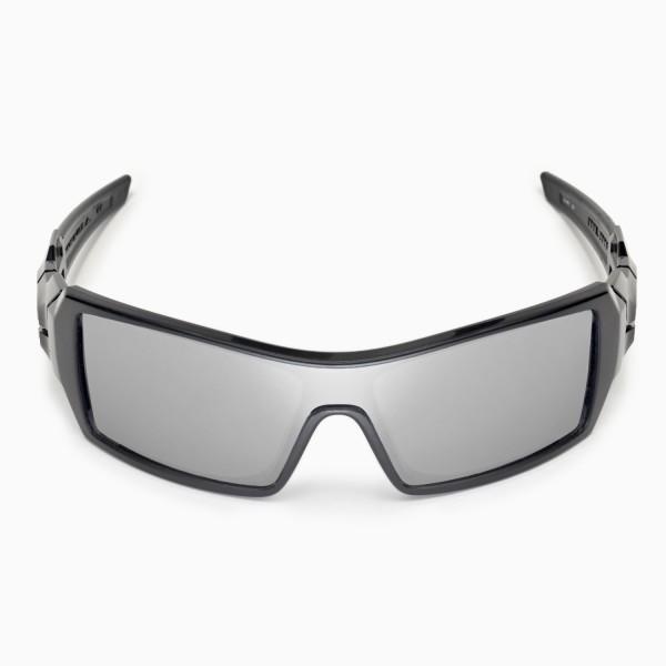 81819c978d Walleva Replacement Lenses for Oakley Oil Rig Sunglasses - Multiple Options  Available (Titanium Coated - Polarized). Color   Polarized Lenses   Titanium