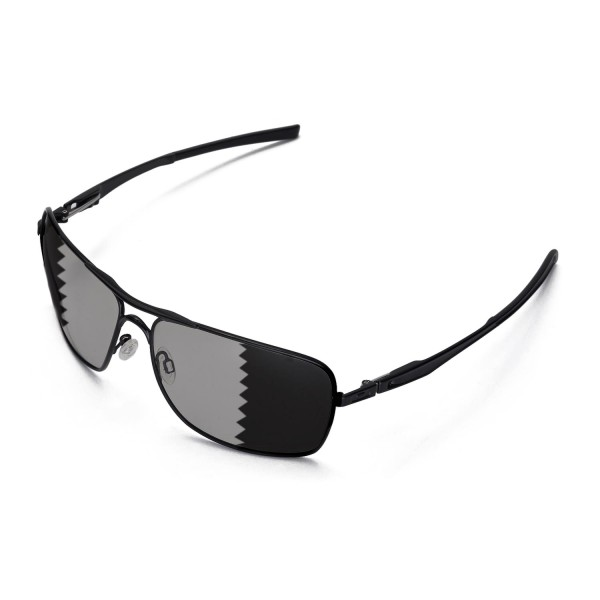 cfa7af62cb Walleva Polarized Transition Replacement Lenses for Oakley Plaintiff  Squared Sunglasses