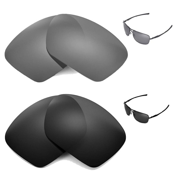 f5d339f8d New Walleva Black + Titanium Polarized Replacement Lenses for ...