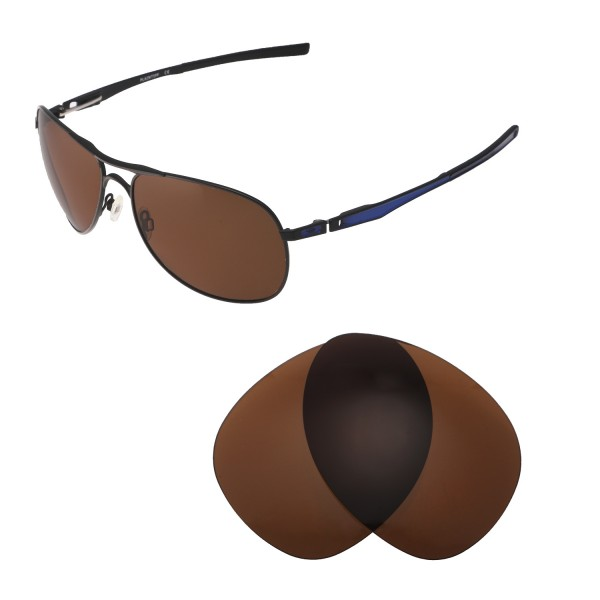 dab0627f5f Walleva Brown Polarized Replacement Lenses for Oakley Plaintiff ...